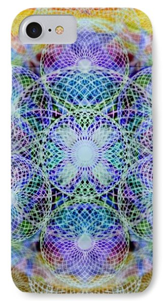 Torusphere Synthesis Interdimensioning Soulin Iv IPhone Case by Christopher Pringer