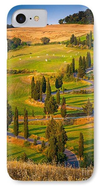Toscana Strada IPhone Case by Inge Johnsson