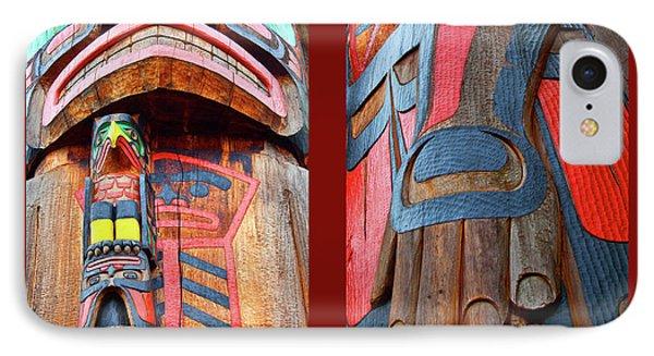 Totem 2 Phone Case by Theresa Tahara