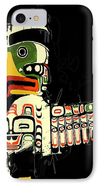 Totem Pole 01 IPhone Case