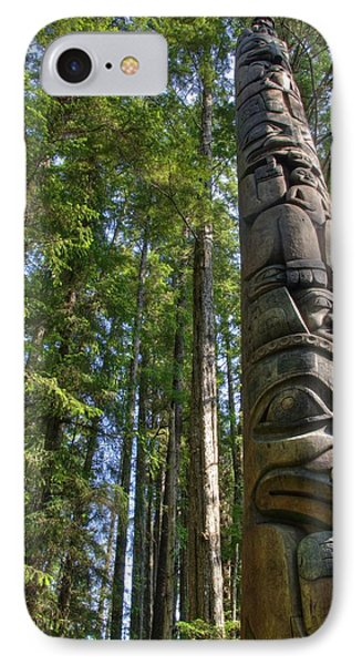 Totem Pole IPhone Case