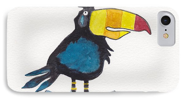 Toucan Cutie IPhone Case by Julie Maas