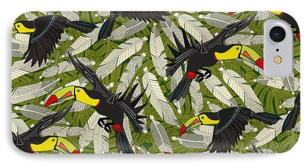 Toucan Jungle IPhone 7 Case