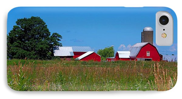 IPhone Case featuring the photograph Touch Of Color by Dave Files