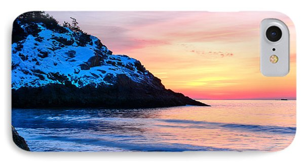 Touch Of Snow Singing Beach IPhone Case