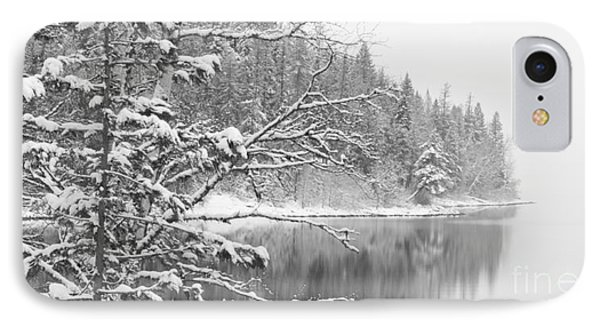 Touch Of Winter IPhone Case by Diane Bohna