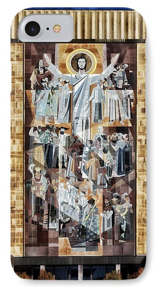 Touchdown Jesus IPhone Case by Mountain Dreams