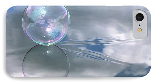 Touching The Clouds IPhone Case by Cathie Douglas