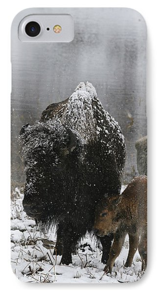 IPhone Case featuring the photograph Toughing It Out by Gary Hall