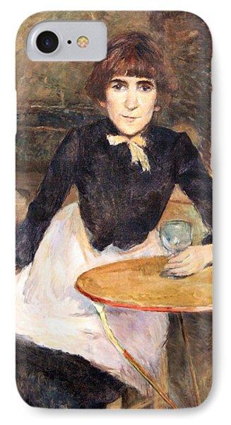 Toulouse Lautrec's A La Bastille -- Jeanne Wenz IPhone Case by Cora Wandel