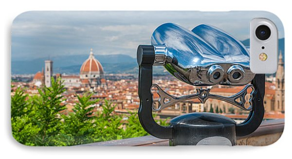 Touristic Florence IPhone Case