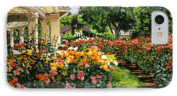 Tournament Of Roses II IPhone Case by David Lloyd Glover