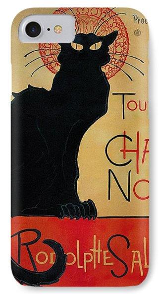 Tournee Du Chat Noir IPhone Case by Celestial Images
