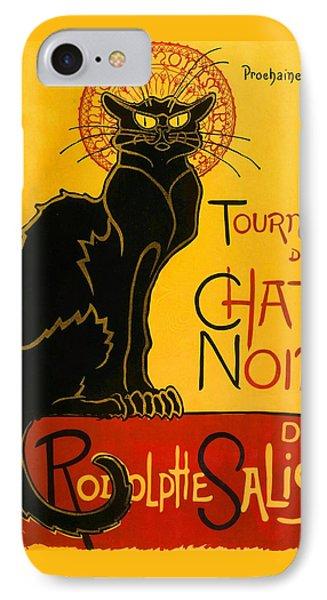 Tournee Du Chat Noir IPhone Case