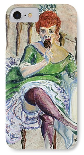 IPhone Case featuring the painting Tous Les Soirs by D Renee Wilson