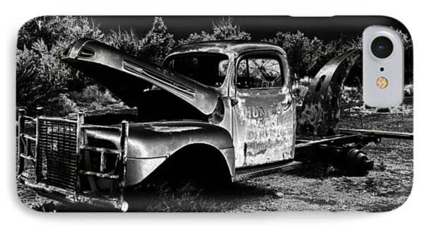 Tow Truck In The Desert IPhone Case by David Lee Thompson