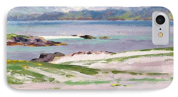 Towards Mull From Choc Ard Anraidh IPhone Case by Francis Campbell Boileau Cadell