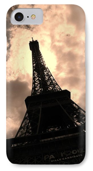 Tower And The Sky IPhone Case by Cleaster Cotton