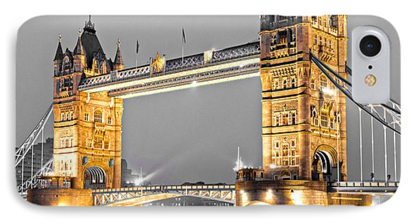 Tower Bridge - London - Uk IPhone Case by Luciano Mortula