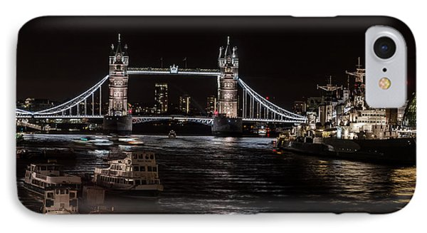 Tower Bridge London England Phone Case by John Hastings