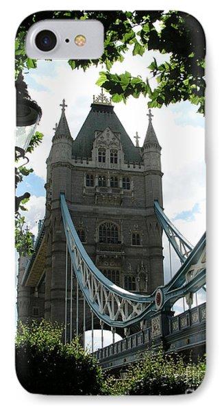 Tower Bridge IPhone Case by Bev Conover