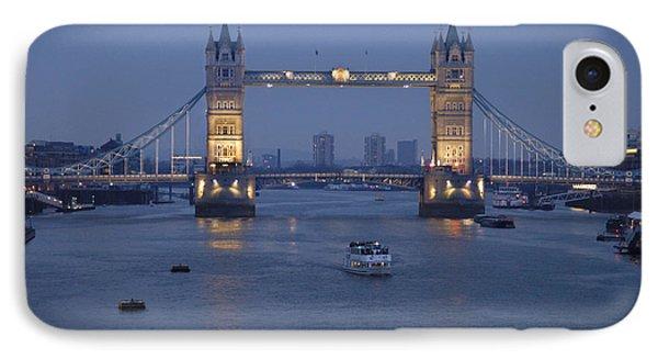 Tower Bridge - England IPhone Case by Mike McGlothlen