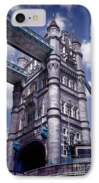 Tower Bridge London IPhone Case by Kasia Bitner