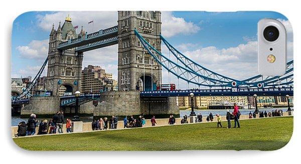 Tower Bridge IPhone Case by Matt Malloy