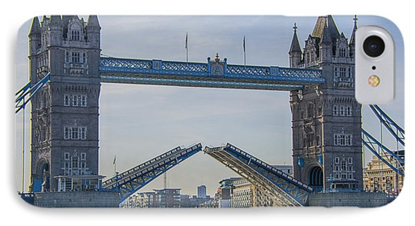 Tower Bridge Opened IPhone Case