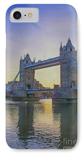 Tower Bridge Sunrise IPhone Case