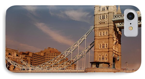 IPhone Case featuring the photograph Tower Bridge Sunset by Jonah  Anderson