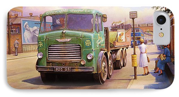 Tower Hill Transport. Phone Case by Mike  Jeffries