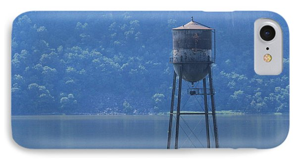 Tower In The Water IPhone Case by Lotus