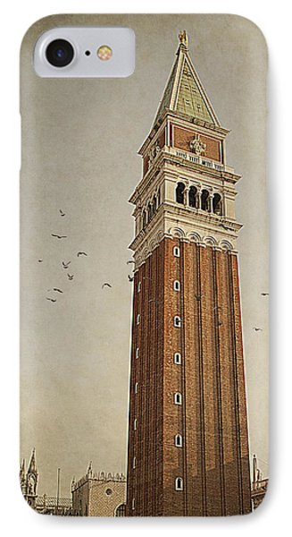 IPhone Case featuring the photograph Tower In Venice by Ethiriel  Photography