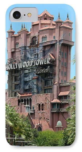 IPhone Case featuring the photograph Tower Of Terror by John Black