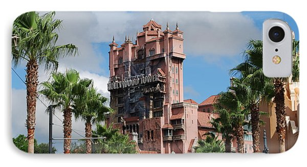 Tower Of Terror  IPhone Case by Eric Liller
