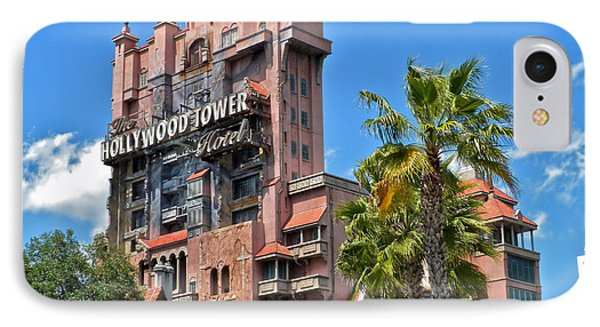 Tower Of Terror IPhone Case by Thomas Woolworth