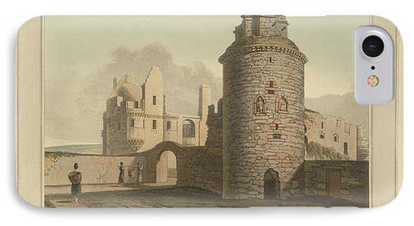 Tower Of The Bishops Palace At Kirkwall IPhone Case by British Library