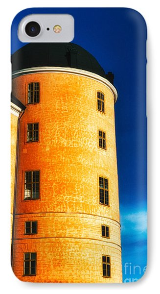 Tower Of Uppsala Castle - Sweden Phone Case by David Hill