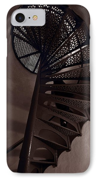 Tower Stairs IPhone Case by Steve Gadomski