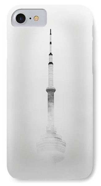 Towering Through The Fog IPhone Case by Ross G Strachan