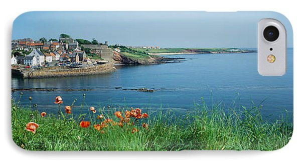 Town At The Waterfront, Crail, Fife IPhone Case by Panoramic Images