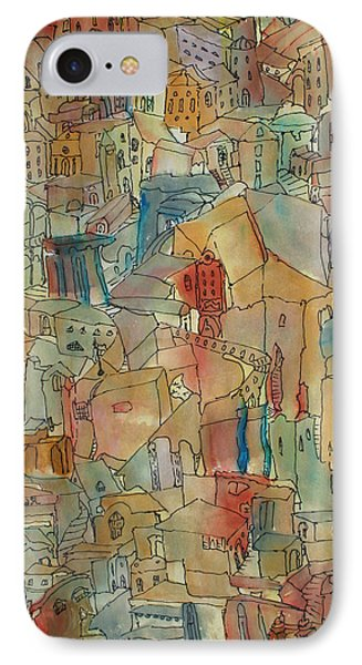 Town I Phone Case by Oscar Penalber