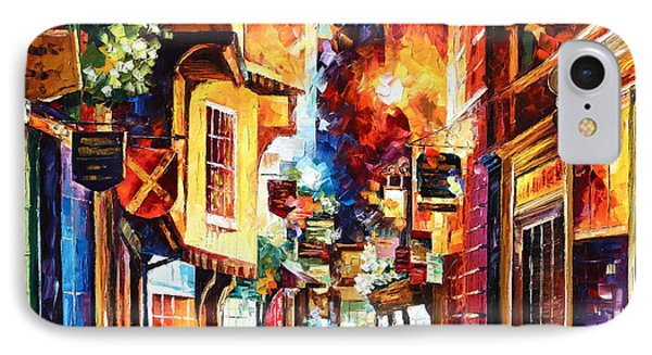 Town In England Phone Case by Leonid Afremov