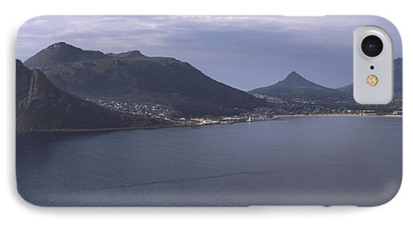 Town Surrounded By Mountains, Hout Bay IPhone Case by Panoramic Images