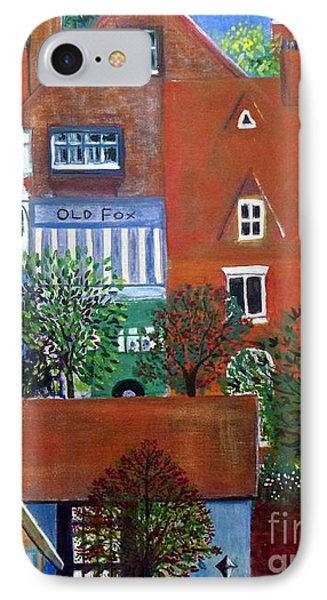 Townscape IPhone Case by Barbara Moignard