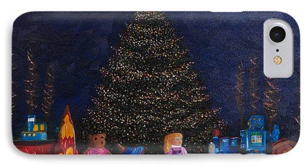 Christmas Toys IPhone Case by Iris Richardson
