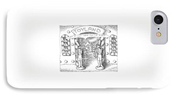 Toyland IPhone Case by John O'Brien
