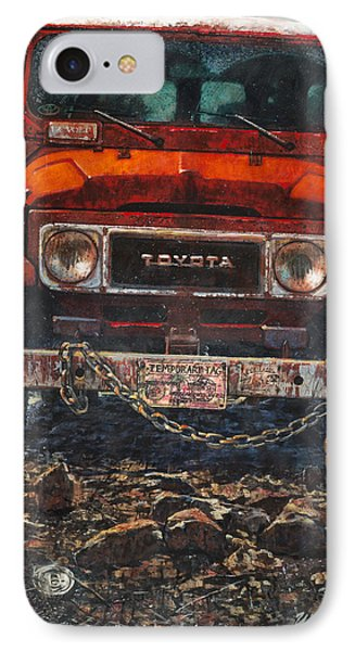 Toyota IPhone Case by Blue Sky