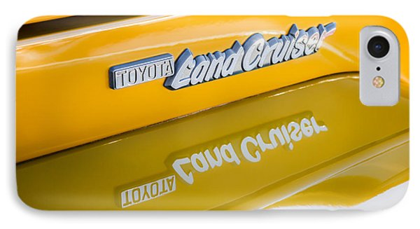 Toyota Land Cruiser Emblem  IPhone Case
